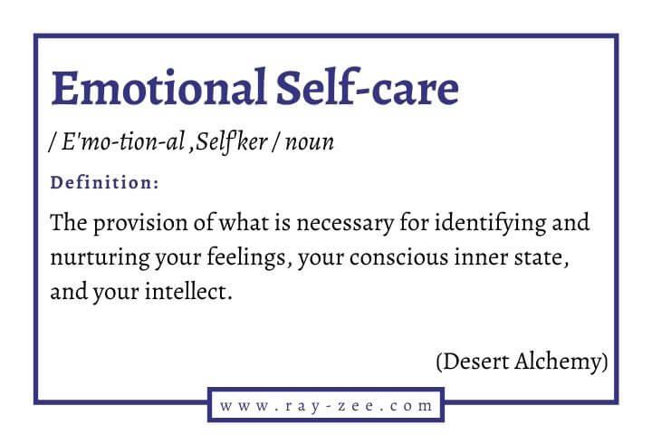 Emotional Self-care definition